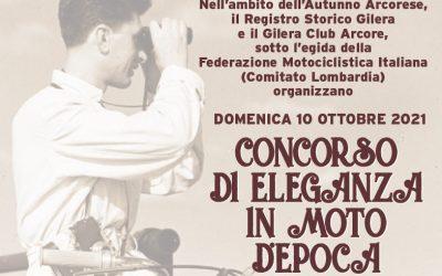 GILERA DAY – CONCORSO DI ELEGANZA Arcore, domenica 10 ottobre 2021